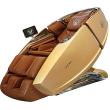 Ghế Massage Phi Thuyền Vũ Trụ SS 919X – Màu vàng 24K – Nội thất nâu đậm