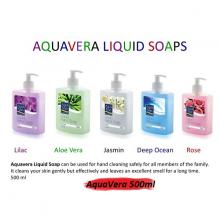 Combo 5 chai nước rửa tay Aquavera Thổ Nhĩ Kỳ 500ml