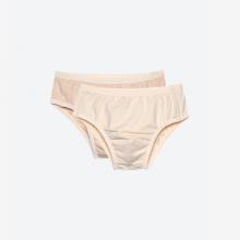 Set 2 chiếc quần lót bé trai dáng tam giác sợi bông hữu cơ - Mimi Organic