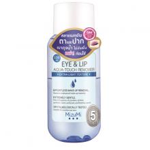 Tẩy trang cho mắt và môi MizuMi eye and lip aqua touch remover 5 free 100ml