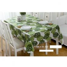 Khăn trải bàn vải canvas lá tropical KB36