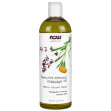 Lavender Almond Massage Oil - tinh dầu massage chiết xuất từu hạt dẻ - hương hoa oải hương (473 ml)