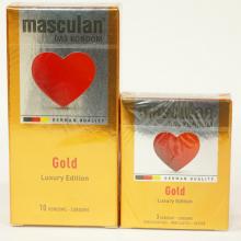 Bao cao su ánh vàng Masculan Gold