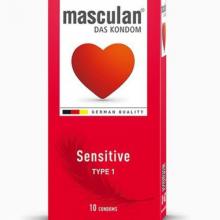 Bao cao su cho da nhạy cảm Masculan Sensitive