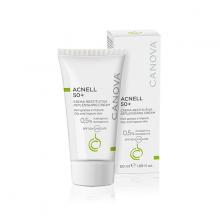 Kem ngừa mụn ban ngày dành cho da mụn, da kích ứng, nhạy cảm CANOVA ACNELL 50+ - replenishing cream