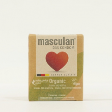 Bao cao su Masculan Organic - Loại 3 bao