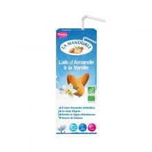 Sữa hạnh nhân vani hữu cơ La Mandorle 200ml