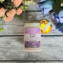 Nến thơm sinh nhật ECOLIFE - Candles Lavender Jar