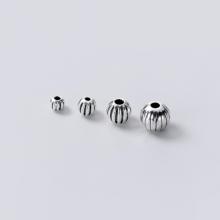 Charm bi bạc họa tiết 5mm - Ngọc Qúy Gemstones