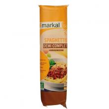 Mì spaghetti bán lứt hữu cơ Markal 500g