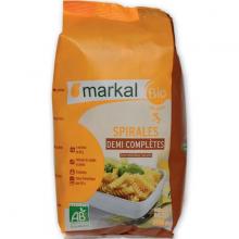 Mì xoắn bán lứt hữu cơ Markal 500g