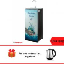 Máy lọc nước RO hydrogen 9 lõi Nagakawa Nag0507Fb - Tặng Ấm siêu tốc inox 1,8L - Số lượng giới hạn