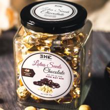 Socola Viên HẠT SEN 90G SHE Chocolate -Thơm, ngon. Đặc biệt giòn tan