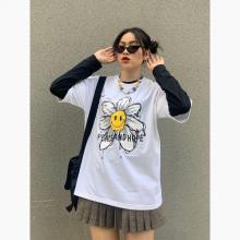 Áo thun, áo phông unisex phom rộng tay lỡ Thời trang Eden - ATT013
