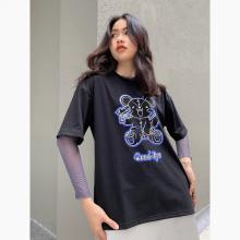 Áo thun, áo phông unisex phom rộng tay lỡ Thời trang Eden - ATT015