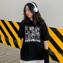 Áo thun, áo phông unisex phom rộng tay lỡ Thời trang Eden - ATT016
