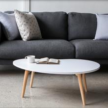 Bàn trà sofa. bàn ăn hạt đậu phong cách bắc âu chân gấp gọn thương hiệu igea gp96