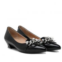 Giày gót thấp Pazzion Singapore 0533-1 - BLACK