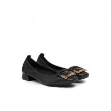 Giày gót thấp Pazzion Singapore 823-1A BLACK