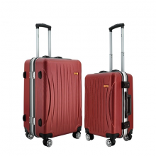 Bộ 2 vali nhựa khung nhôm cao cấp IMMAX A15 size 50cm + 60cm