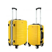 (MIỄN PHÍ SHIP) Bộ 2 vali khung nhôm IMMAX A17 size 20+24inch cao cấp