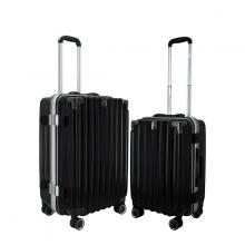 Bộ 2 vali nhựa kéo du lịch IMMAX A18 size 50cm + 60cm