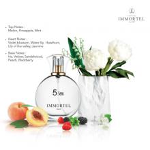 Nước hoa nữ IMMORTEL PARIS 5Sens Eau De Parfum 60ml