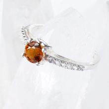 Nhẫn bạc nữ đá thiên nhiên kiểu dáng 4 - Ngọc Quý Gemstones