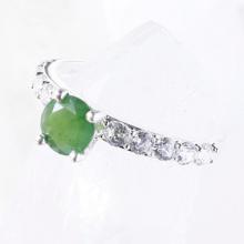 Nhẫn bạc nữ đá thiên nhiên kiểu dáng 6 - Ngọc Quý Gemstones