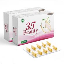 Combo 2 viên uống sáng da 3T Beauty tăng độ đàn hồi, trẻ hóa da (1 hộp 30 viên)