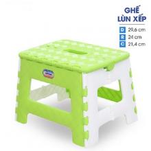 Ghế lùn xếp nhựa Duy Tân - 04748