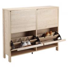Tủ giày SKECHERS Màu gỗ sồi eamesteak Index Living Mall