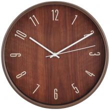 Đồng hồ treo tường HAILEY Màu gỗ tự nhiên Index Living Mall