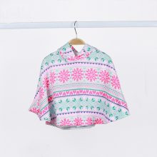 Áo choàng Poncho cho bé Haki (2 - 8y)