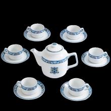Bộ trà Minh Long 0.7 L Jasmine phúc lộc thọ