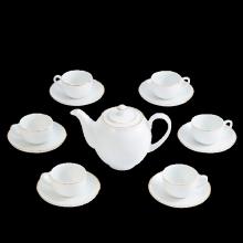 Bộ trà Minh Long 0.8 L - Camellia bắt chỉ vàng