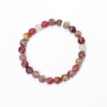 Vòng tay đá thạch anh ưu linh đa sắc hạt 8mm - Ngọc Quý Gemstones