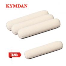 Combo 3 gối ôm KYMDAN SoftTouch cỡ nhỏ (chiều dài 75 cm) - Tặng 1 gối cùng kích thước