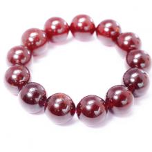 Vòng tay trơn đá Garnet size hạt 18mm mệnh hỏa,thổ - Ngọc Quý Gemstones