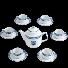 Bộ trà Minh Long 1.1 L Jasmine phúc lộc thọ