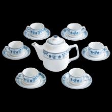 Bộ trà Minh Long 0.7 L Jasmine tứ quý