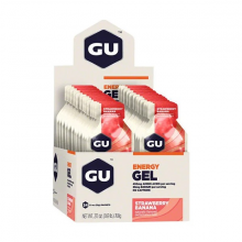 Hộp 24 gói gel uống bổ sung năng lượng Gu Energy gel vị dâu chuối