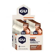 Hộp 24 gói gel uống bổ sung năng lượng Gu Energy gel vị socola nguyên chất
