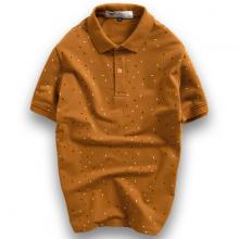 Áo thun nam polo họa tiết full áo sang trọng Pigofashion Aht30 chọn màu