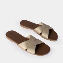 Dép nữ thời trang Erosska quai ngang siêu mềm êm chân DE035