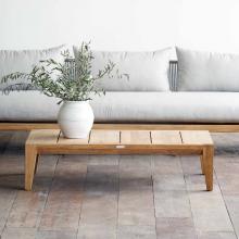 Bàn sofa, bàn trà Pier gỗ cao su