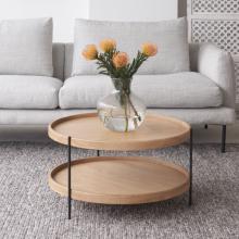Bàn sofa, bàn trà Humla gỗ sồi