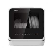 Máy rửa chén Toshiba màu đen DWS-22AVN(K) - Hàng chính hãng