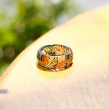 Nhẫn nữ đá băng ngọc thủy tảo huyết ni18 kiểu dáng 2 mệnh hỏa, mộc, thổ - Ngọc Quý Gemstones