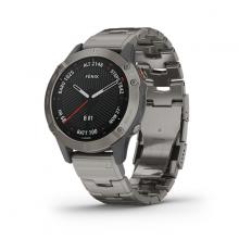 Đồng hồ Garmin Fēnix 6 Sapphire  - Bạc
